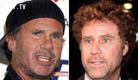 Nhạc sĩ Chad Smith (thành viên ban nhạc Rock của Mỹ Red Hot Chili Peppers) và diễn viên Will Ferrell,