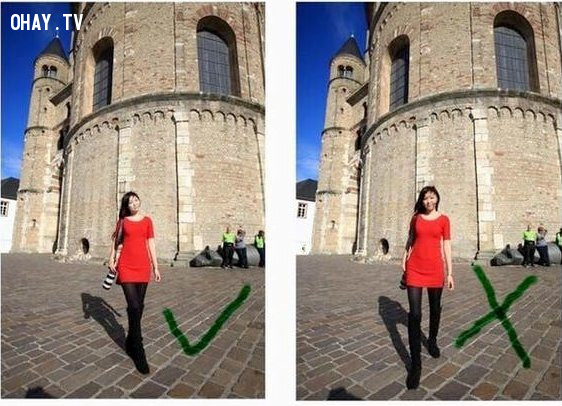 3. Hai chân bắt chéo,mẹo chụp ảnh đẹp,chân dài