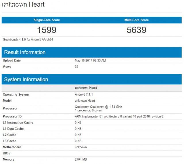 Với bài thử nghiệm đa lõi ở tốc độ 1.84GHz cùng 3GB RAM, Snapdragon 660 đạt được 5639 điểm trong khi trên thử nghiệm lõi đơn chỉ ghi được 1599 điểm.,Qualcomm