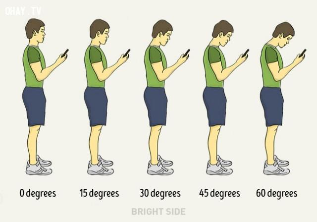 Cầm điện thoại đúng cách,người tự tin,kỹ năng thành công