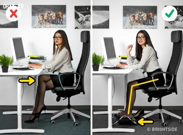 1. Đau chân,dân văn phòng,mẹo công sở