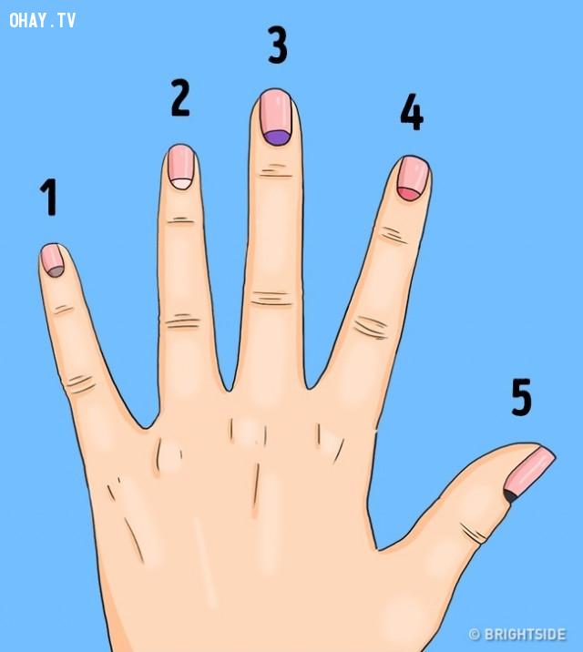 Thay đổi màu sắc lunulae,liềm móng tay,Lunulae