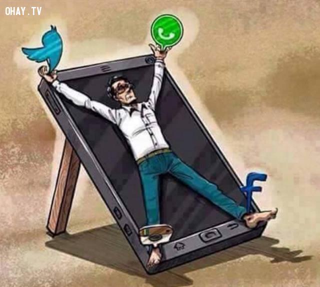 7, Khi chúng ta trở thành nô lệ của smart phone,