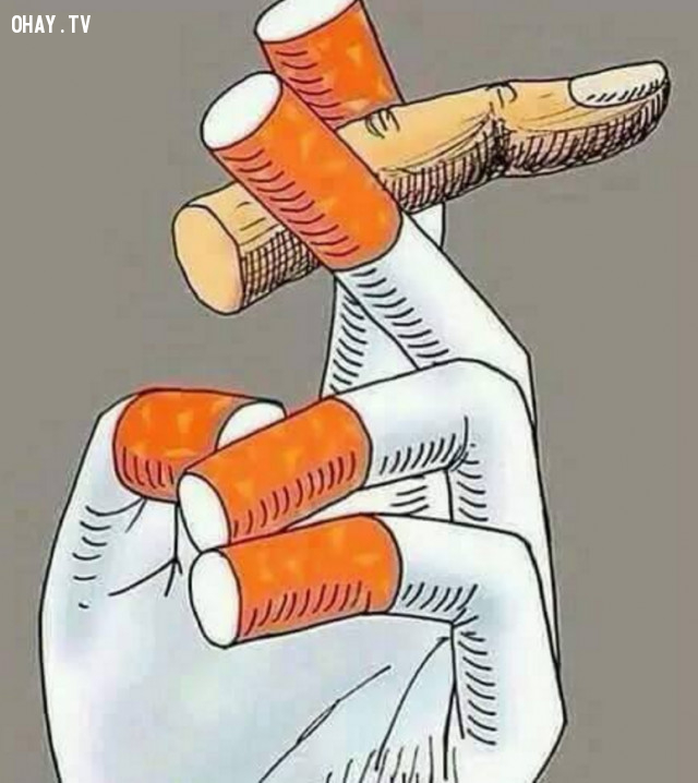 10, Bạn hút thuốc hay thuốc hút bạn,