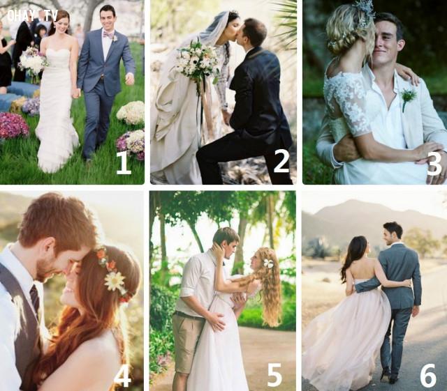 Bạn thấy cặp cô dâu - chú rể nào có tình cảm mặn nồng nhất?