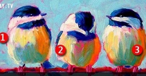 Hãy chọn một con chim, chúng tôi sẽ cho bạn biết trong  tiềm thức bạn yêu ai