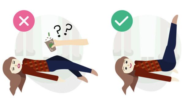 Sai lầm # 5: Cho người bị ngất uống cà phê hoặc nước tăng lực,sơ cứu,sai lầm cần tránh