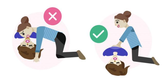 Sai lầm # 8: Hà hơi thổi ngạt là cách duy nhất để sơ cứu cho người bị đau tim ,sơ cứu,sai lầm cần tránh