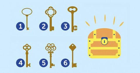 Cách chọn chìa khóa tiết lộ bạn có phải người sáng suốt