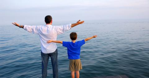 Tâm sự với con trai