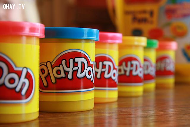 2. Đất nặn Play-Doh,những điều thú vị trong cuộc sống,có thể bạn chưa biết