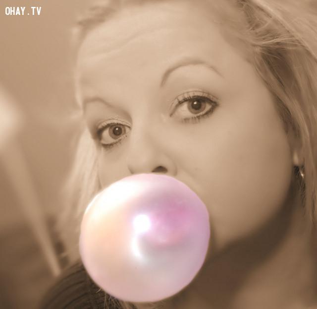 10. Kẹo cao su,những điều thú vị trong cuộc sống,có thể bạn chưa biết