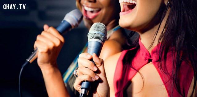 8. Karaoke,những điều thú vị trong cuộc sống,có thể bạn chưa biết