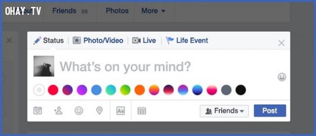 ,facebook,chính sách riêng tư,thông tin cá nhân