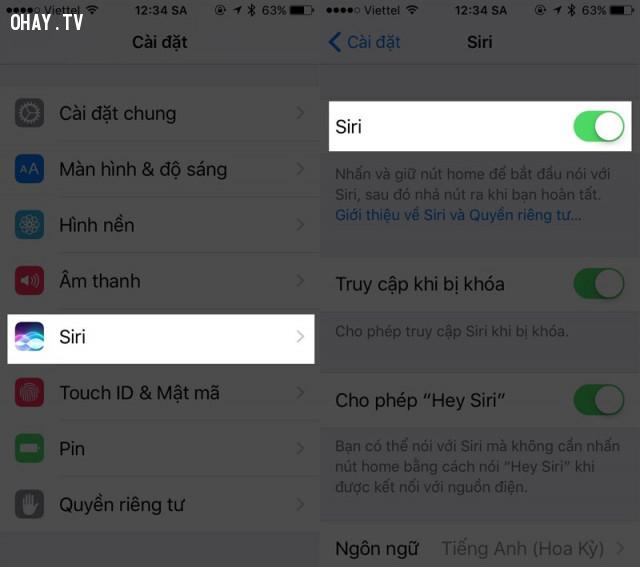 Sử dụng Siri để kích hoạt nhanh 3G trên iPhone,