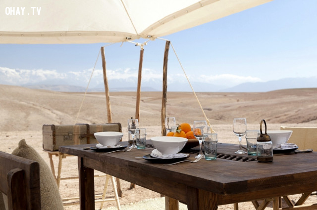 Scarabeo Camp, Agafay Desert, Morocco,