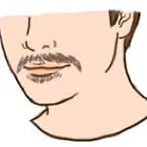 Ria mép và râu dê