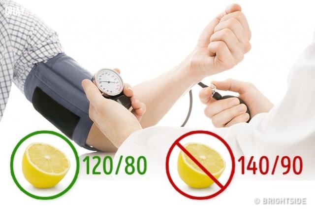 5. Không bị cao huyết áp,cải thiện giấc ngủ,quả chanh,trị mất ngủ,cách để ngủ ngon