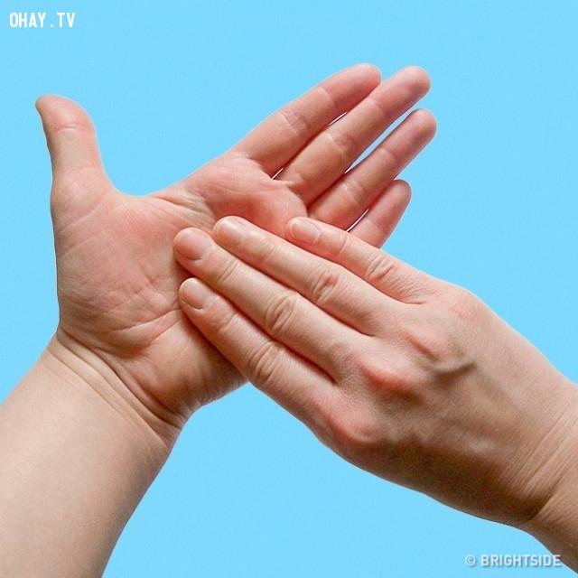 6. Lòng bàn tay,ngón tay,nắm tay,chữa bệnh bằng nắm tay