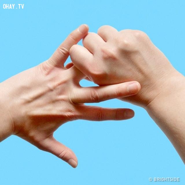 4. Ngón đeo nhẫn,ngón tay,nắm tay,chữa bệnh bằng nắm tay