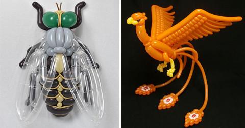 50+ kiểu tạo hình bong bóng không thể tin được của nghệ sĩ người Nhật Matsumoto