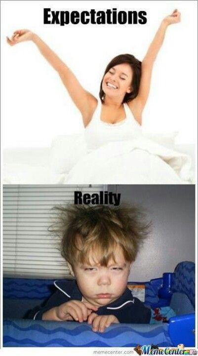 Bạn nghĩ mình thức dậy như thế này...,
