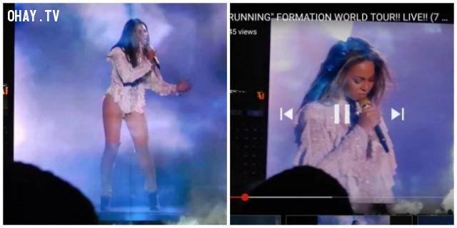 9. Vừa đi xem concert của Beyoncé về nga.,sống ảo,chụp ảnh tự sướng