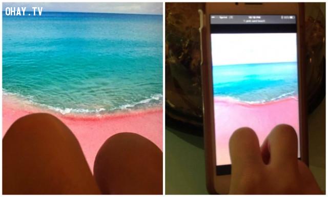 1. Một kỳ nghỉ được chờ đợi từ lâu ở Bahamas.,sống ảo,chụp ảnh tự sướng