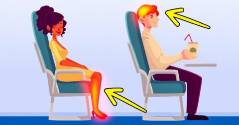 10 điều xảy ra với cơ thể khi bạn đi máy bay
