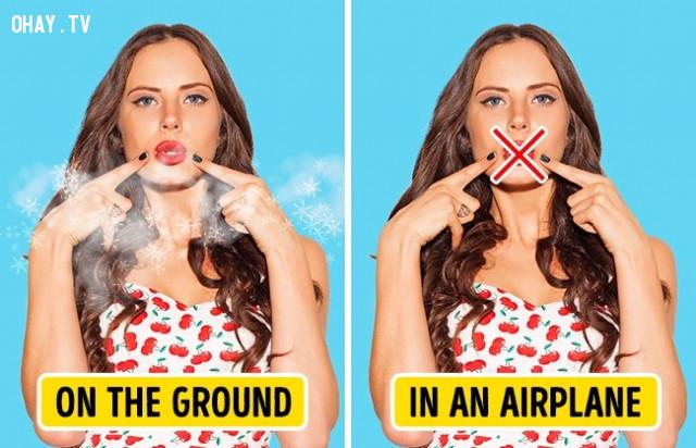 3. Hơi thở của bạn có mùi hôi,đi máy bay,cơ thể con người