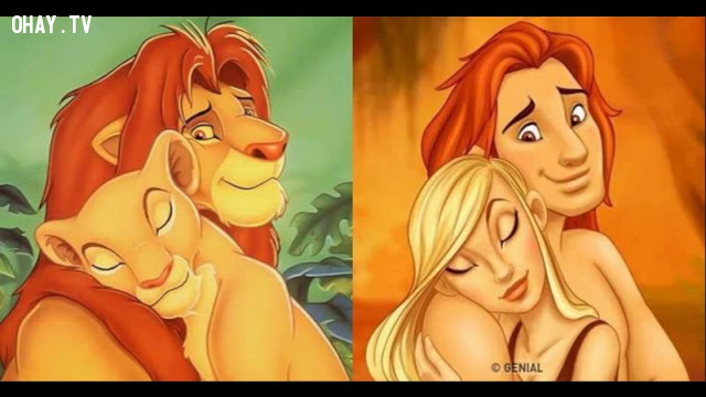 The lion king ,