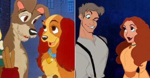 Những con vật trong phim hoạt hình sẽ như thế nào nếu biến thành người ?