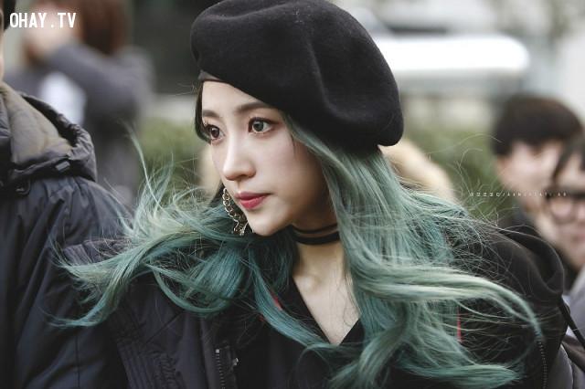 Màu rêu ,màu tóc đẹp,nhuộm tóc