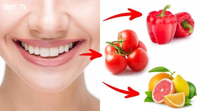 5. Chảy máu nướu răng ,dấu hiệu sức khỏe