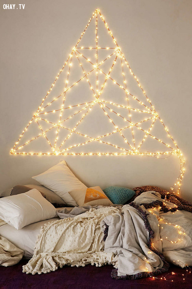 2. Ghép thành các hình trong hình học phẳng,trang trí phòng ngủ,đèn led