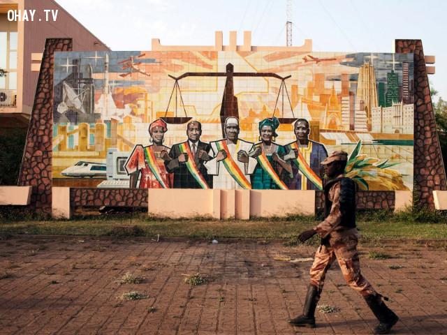 13. Mali,quốc gia nguy hiểm,đi du lịch nước ngoài,khủng bố