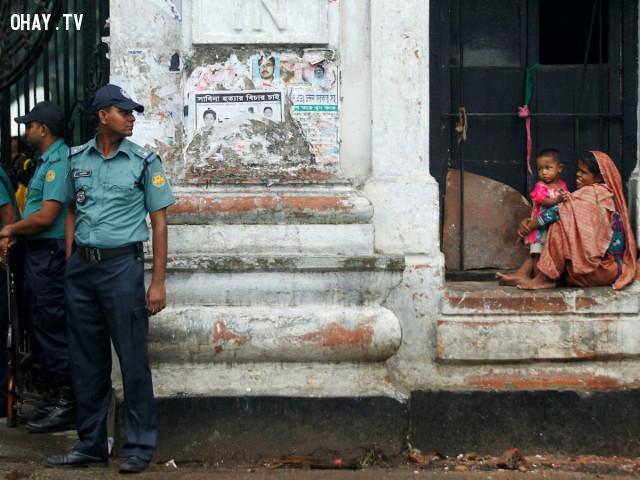 14. Bangladesh,quốc gia nguy hiểm,đi du lịch nước ngoài,khủng bố
