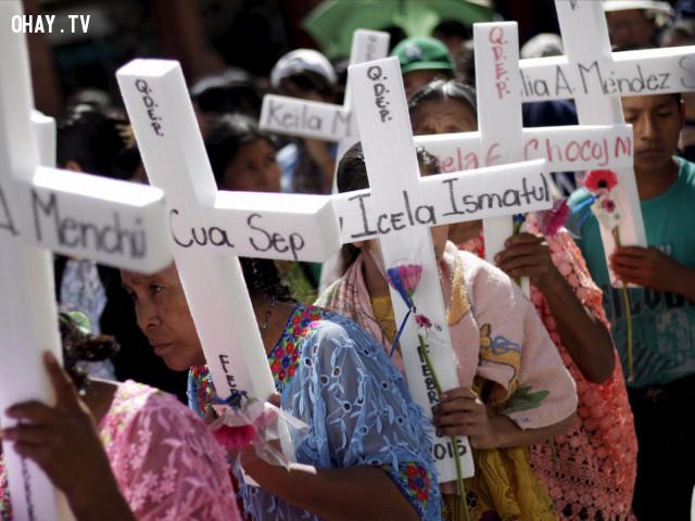 16. Guatemala,quốc gia nguy hiểm,đi du lịch nước ngoài,khủng bố