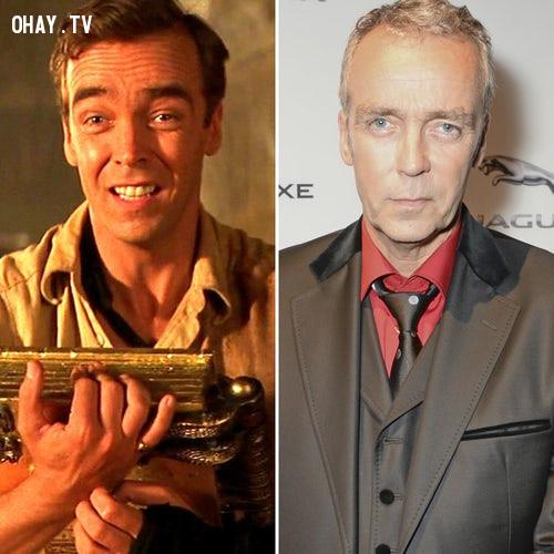 Diễn viên John Hannah trong vai Jonathan Carnahan,ngày ấy bây giờ,diễn viên,xác ướp ai cập