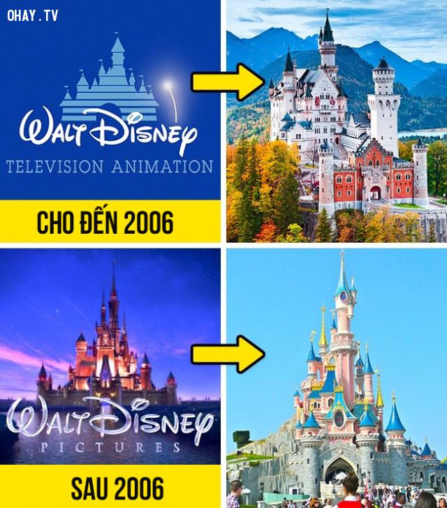 Tòa lâu đài trên logo của Walt Disney,giải mã logo,hollywood,những điều thú vị trong cuộc sống