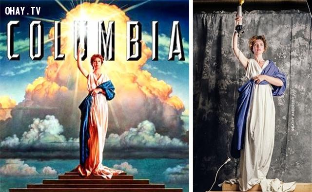 Hãng Columbia và người thiếu nữ cầm đuốc,giải mã logo,hollywood,những điều thú vị trong cuộc sống