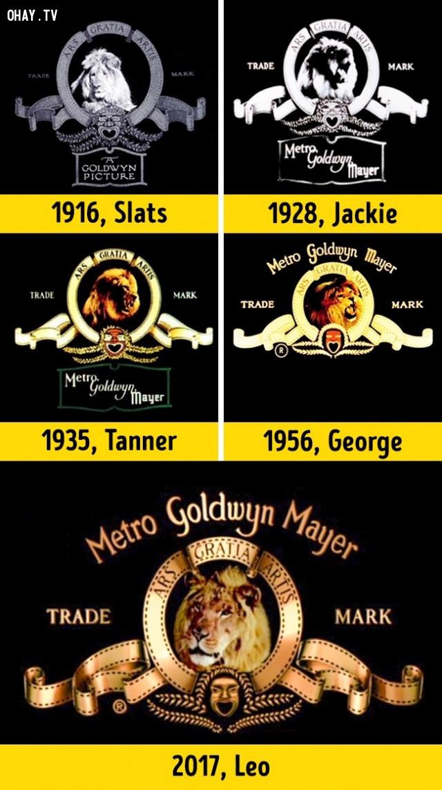 Hãng Metro-Goldwyn-Mayer (MGM) - Sư tử Leo,giải mã logo,hollywood,những điều thú vị trong cuộc sống