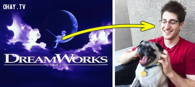 Cậu bé trên cung trăng trong logo của Dreamworks,giải mã logo,hollywood,những điều thú vị trong cuộc sống