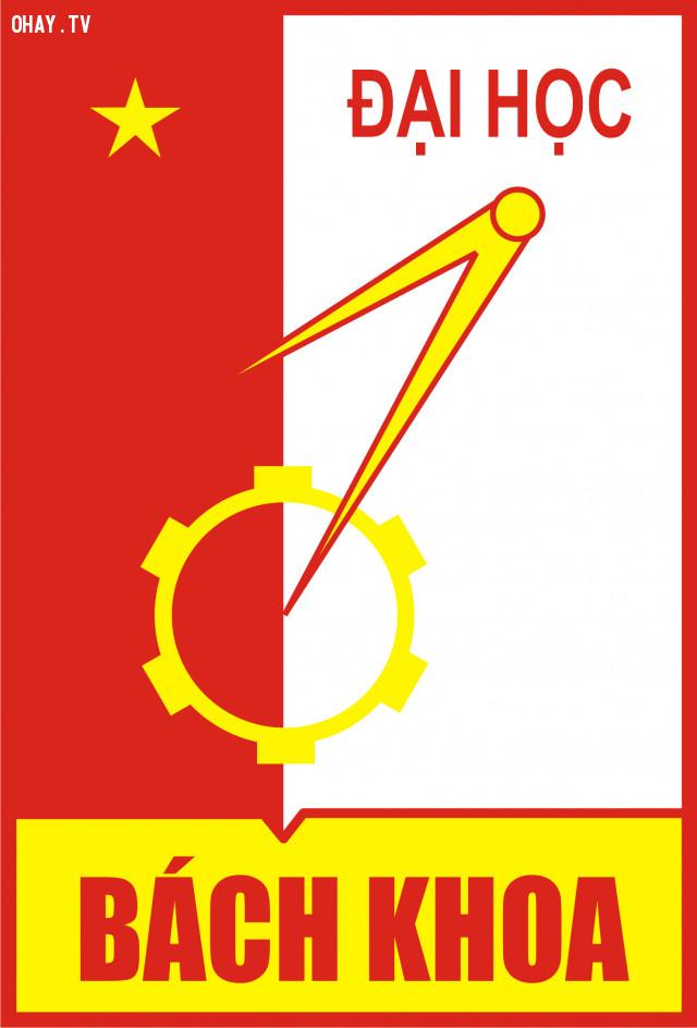 7. Trường đại học Bách khoa Hà Nội,giải mã logo,các trường đại học