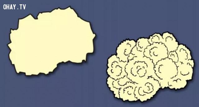 27.  Cộng  hòa Macedonia - Đất nước hình bông cải trắng,bản đồ,châu âu,bí quyết ghi nhớ