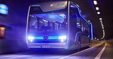 Xe buýt tự hành - chiếc 'Xe buýt tương lai' của Mercedes