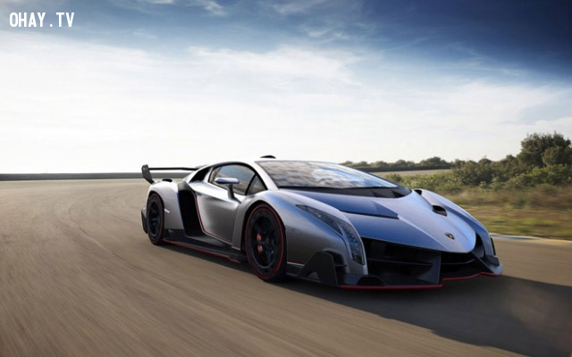 Lamborghini Veneno ( 4,5 triệu USD ),siêu xe,xe siêu sang,hàng hiếm