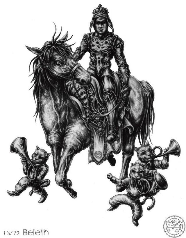 Số 3: Beleth,vua solomon,ma quỷ,tâm linh,kinh dị