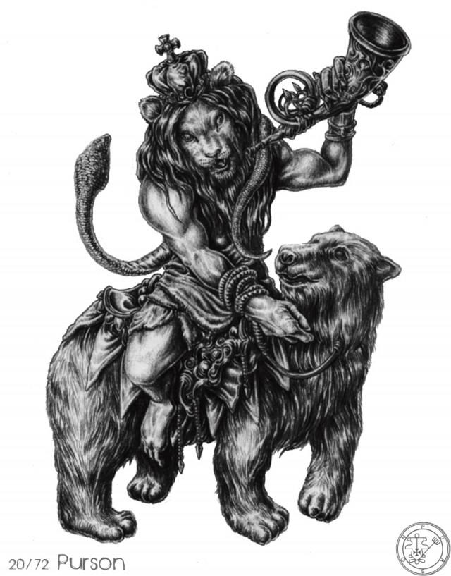 Số 4: Purson,vua solomon,ma quỷ,tâm linh,kinh dị