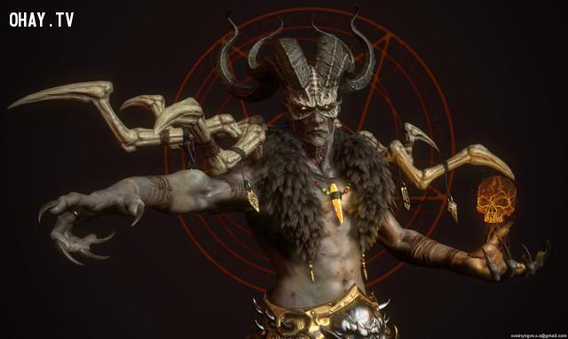 Số 2: Baal ,vua solomon,ma quỷ,tâm linh,kinh dị